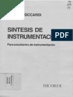 Ficher-Siccardi - Síntesis de Instrumentación