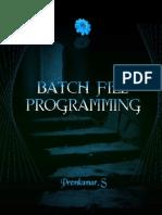 Programação Batch MSDOS