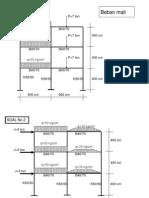 Soal Latihan Aplikasi Komputer Teknik Sipil (SAP 2000)
