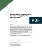 Regeneration of Public Spaces