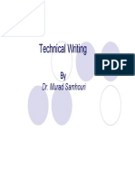 Technical Writing Slides