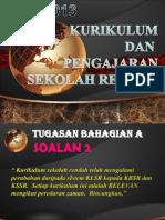 Perubahan Sistem Kurikulum Di Malaysia