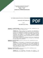 Proyecto Ley de Lemas