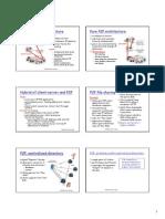 Client-server Architecture Pure P2P