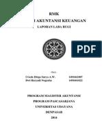 Laporan Laba Rugi Teori Akuntansi Keuangan