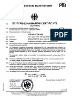 SEW EC-Type-Examination Certificate