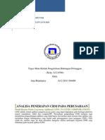 Analisis CRM Pada Perusahaan