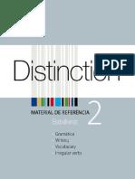 distinction 2º batxillerato