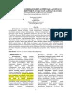 Journal Analisis Estimasi Kebangkrutan Perusahaan Dengan Pendekatan Zmijewski (X-score) Dan Altman (Z-score)