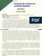 MARX - 1850 - Deslocamentos Do Centro de Gravidade Mundial