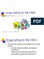 Drugs Acting on the CNS 1