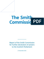 The Smith Commission Report