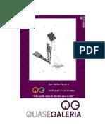 Brochura Rui Horta Pereira[Tudo aquilo que cair da mesa para o chão]