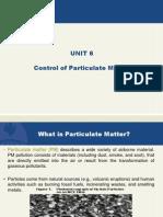 Unit 6 Final Ppt Control of Parti