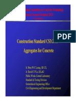 Construction Standard
