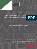 Estimacion Del Costo Del Capital Para Concesiones en Carretera Del Peru