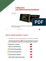 133121350 Radio Networks Capacity Dimensioning Guideline