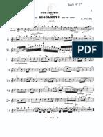 Parma R. - Pot-Pourrì Sull'Opera Rigoletto Per Oboe e Piano (Oboe Part)