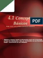 4.1- Conceptos Básicos.
