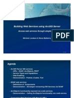 Arcgis Server Building Web Services