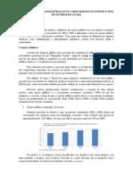 Influência Dos Gastos Públicos - Resumo