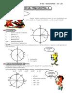 III BIM - TRIG - Guía Nº 6 - Circunferencia Trigonométrica I