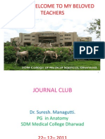 JOURNAL CLUB -Lymphtic System Review
