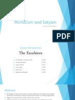 WorldCom and Satyam