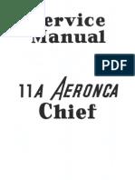 Aeronca Chief 11A Service Manual