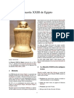 Dinastía XXIII de Egipto