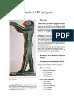 Dinastía XXIV de Egipto