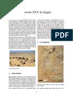 Dinastía XXV de Egipto