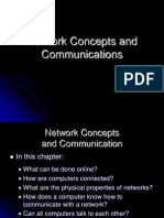 Network Concepts and Communications