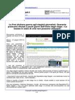 La FNSI dichiara guerra ai giornalisti stagisti - Repubblica degli stagisti.it del 26 novembre 2014