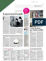 Il segreto dei prof in giallo - Il Messaggero del 26 novembre 2014