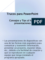 Trucos Para PowerPoint Animada