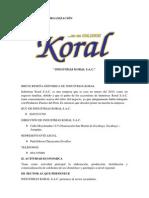 Gestion de La Tecnologia - Industrias Koral