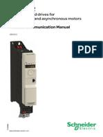 Manual Modbus Para Atv32 Variador de Frecuencia