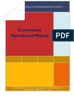 Community Operational Manualgfg