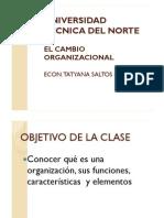 La Organización y Sus Funciones
