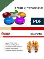Metodologias Agiles en Proyecto de TI