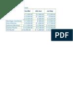 Excel Ejercicio 10 Adobe Reader.xlsx y 11