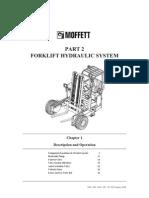 moffet forklift pump valve rh scribd com Moffett Forklift Hydraulic Diagrams Moffett Forklift Parts