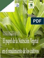 Papel de La Nutricion Vegetal