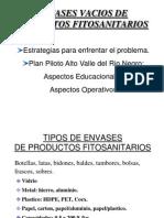 ENVASES VACIOS DE PRODUCTOS FITOSANITARIOS