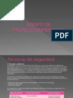 Uso Del Equipo de Proteccionpersonal
