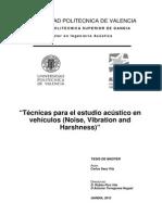 Ingeniería Acústica En Vehículos Automotrices
