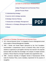 Unit 1 .Introduction to Strategic Management