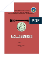 Bacillus Anthracis Documentos