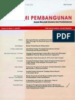 Jurnal Ekonomi Pembangunan Vol. 12 No. 1 Juni 2011 ISSN 1411-6081